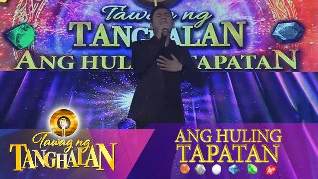 Tawag ng Tanghalan: Sofronio Vasquez | Let It Be (Ang Huling Tapatan Day 5)