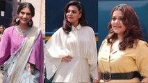 Sonam Kapoor, Swara Bhasker, Shikha Talsania Promote Veere Di Wedding A Day Before It's Release