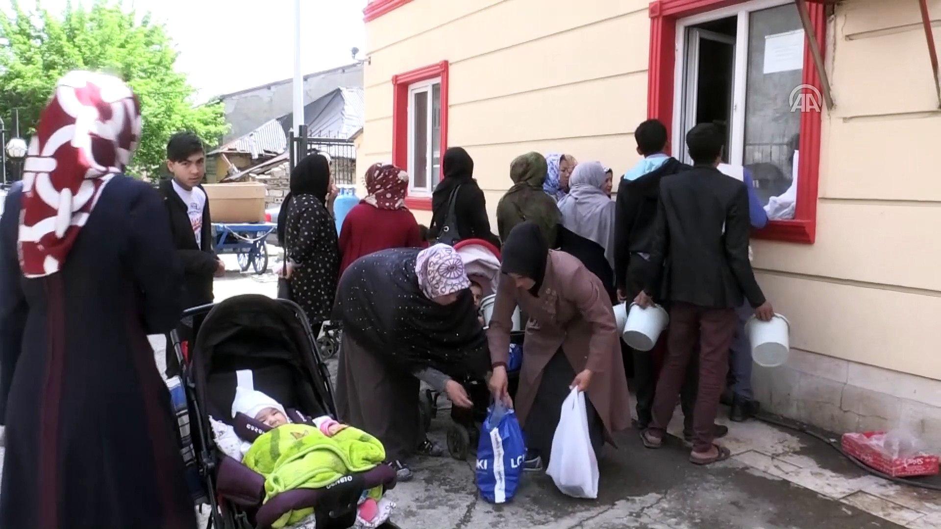 İftar sofraları Türk Kızılayı ile şenleniyor - AĞRI