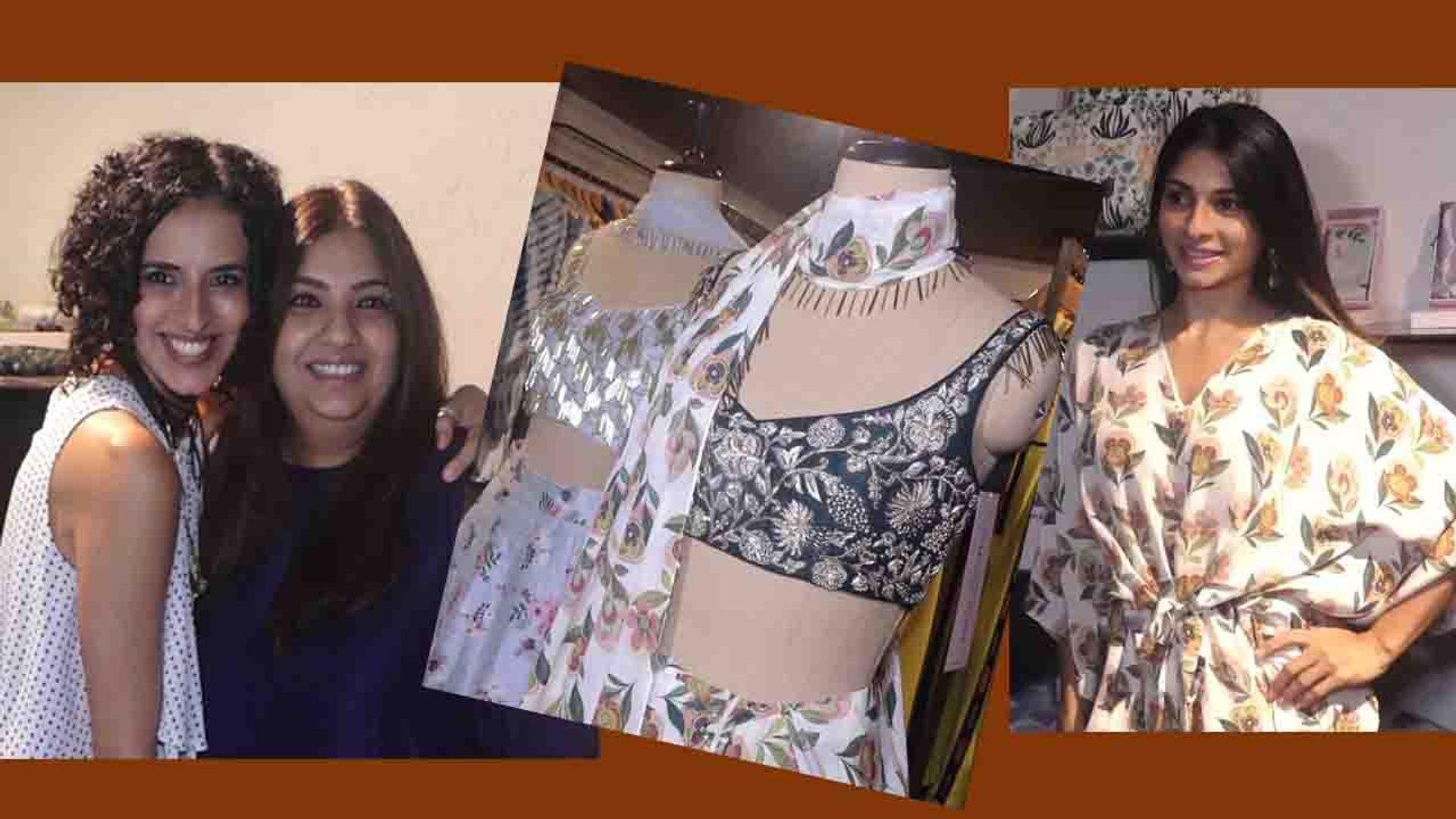 Tanishaa Mukerji, Mini Mathur & Maria spotted at fresh Summer Collection of PS Print Bazaar| Bol