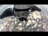 Highest ever wingsuit jump - from 37,265ft!