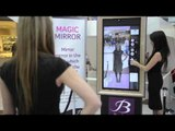 High-tech mirror lets you try on clothes without getting undressed