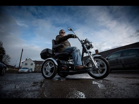 Harley Davidson mobility scooter