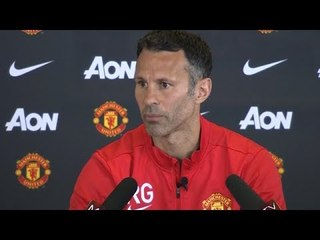 Manchester United - Ryan Giggs Gives First News Conference As Boss