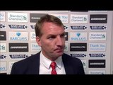 Liverpool 0-2 Chelsea - Brendan Rodgers Post Match Interview - Frustrated By Blues Tactics