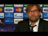 Jurgen Klopp Suddenly Stops Talking & Looks Confused During Post Match Press Conference