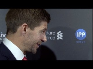 LFC Awards - Steven Gerrard Jokes About The Title Literally Slipping Away