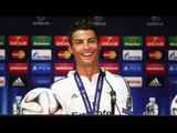 Ronaldo Dedicates His Super Cup Man Of The Match Award To Sir Alex Ferguson