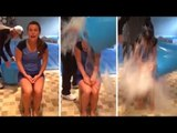 Coleen Rooney Takes On The ALS 'Ice Bucket Challenge' !! Wayne Dumps Bucket On Her Head !