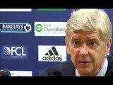 Arsene Wenger Gets Angry After Repeated Questions About 'Wenger Out' Banners