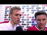 Yeovil 0-2 Manchester United - Ander Herrera & Darren Fletcher Post Match Interview