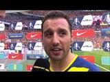 FA Cup Final - Arsenal 4-0 Aston Villa - Santi Cazorla Post Match Interview