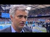Chelsea 3-1 Sunderland - Jose Mourinho Post Match Interview - Revels In Title Success