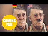 Makers of a new Nazi game have censored Hitler for the German release by removing his MOUSTACHE