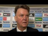 West Brom 1-0 Manchester United - Louis van Gaal Post Match Interview - Big Blow To Top Four Chances