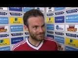 Norwich 0-1 Manchester United - Juan Mata Post Match Interview