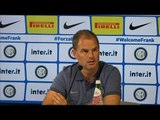 Frank De Boer Takes On 'Difficult' Job At Inter Milan