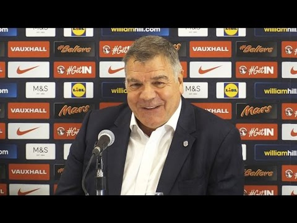 Sam Allardyce Gives His First Press Conference As England