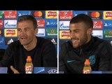 Luis Enrique & Rafael Alcántara Pre-Match Press Conference - Celtic v Barcelona - ESPAÑOL / ENGLISH