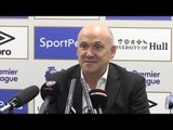 Hull 1-4 Arsenal - Mike Phelan Full Post Match Press Conference - Hints At End To Contract Saga