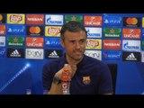 Luis Enrique Full Pre-Match Press Conference - Barcelona v Manchester City - Champions League