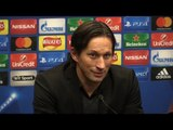 Tottenham 0-1 Bayer Leverkusen - Roger Schmidt Full Post Match Press Conference - Champions League