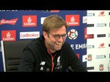 Jurgen Klopp Full Pre-Match Press Conference - Liverpool v Plymouth - FA Cup