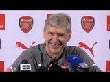 Arsene Wenger Full Pre-Match Press Conference - Everton v Arsenal
