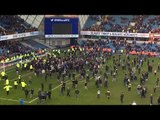 Millwall Fans Invade Pitch To Celebrate FA Cup Victory Over Leicester