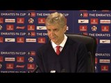 Southampton 0-5 Arsenal - Arsene Wenger Full Post Match Press Conference - FA Cup