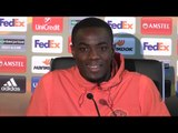 Eric Bailly Full Pre-Match Press Conference - Manchester United v St-Etienne - Europa League