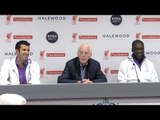 Liverpool 4-3 Real Madrid - Press Conference With Real Madrid Legends Figo, Seedorf & Beenhakker