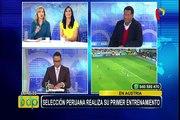 Selección Peruana: así fue su primer entrenamiento en Austria