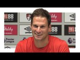 Asmir Begovic's First Press Conference After Signing For Bournemouth