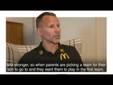Ryan Giggs On Manchester United's Academy Excellence