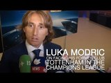 """Luka Modric Interview - """"Happy"""" To Draw Tottenham In The Champions League"""