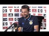 Russell Martin Full Pre-Match Press Conference - Lithuania v Scotland - World Cup Qualifying