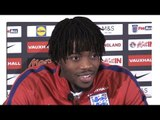 Nathaniel Chalobah Press Conference After First England Call-Up - Malta v England - WC Qualifying