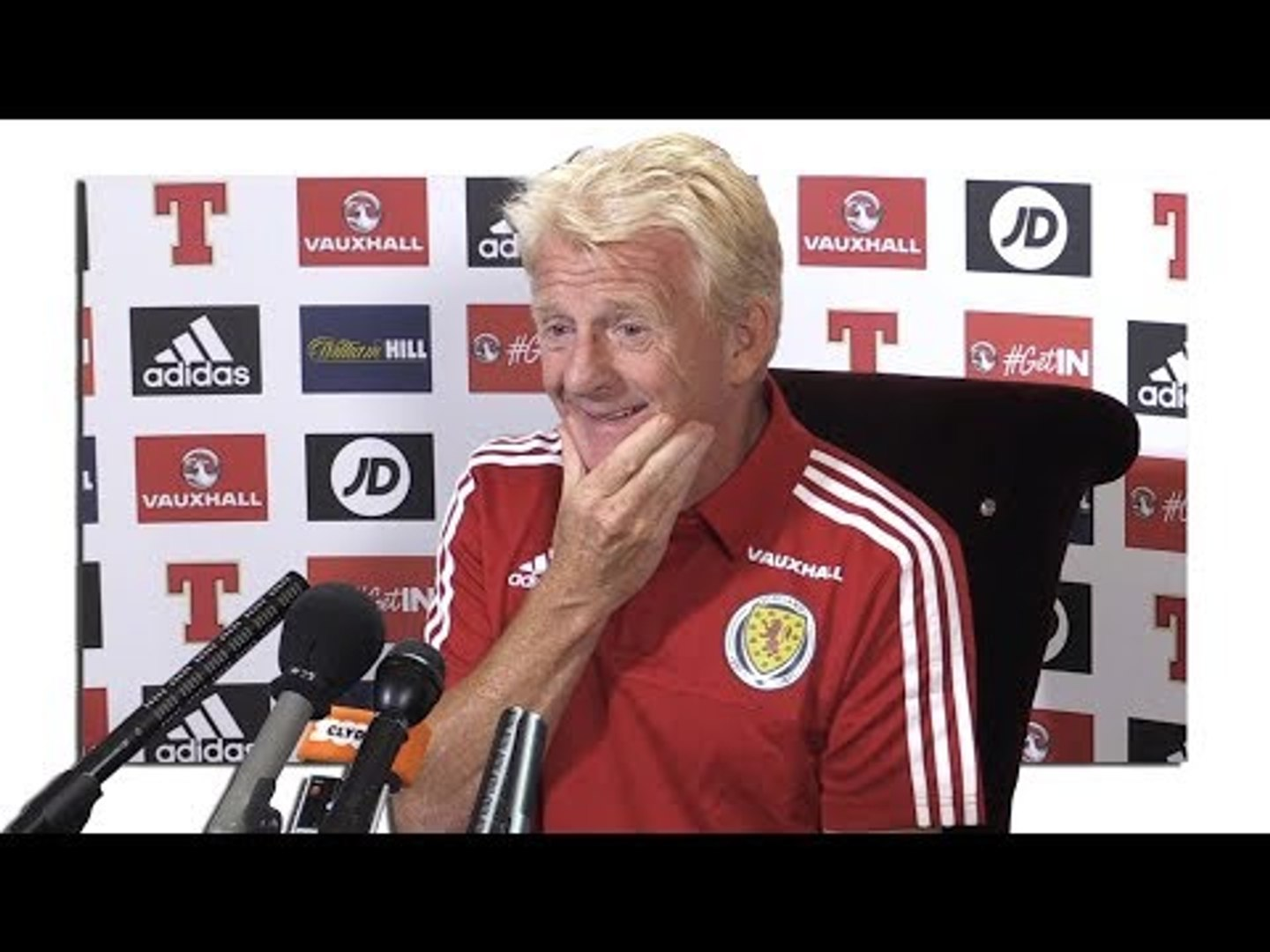 Gordon Strachan Full Pre-Match Press Conference - Lithuania v Scotland - World Cup Qualifying