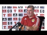 Mark McGhee Full Pre-Match Press Conference - Lithuania v Scotland - World Cup Qualifying