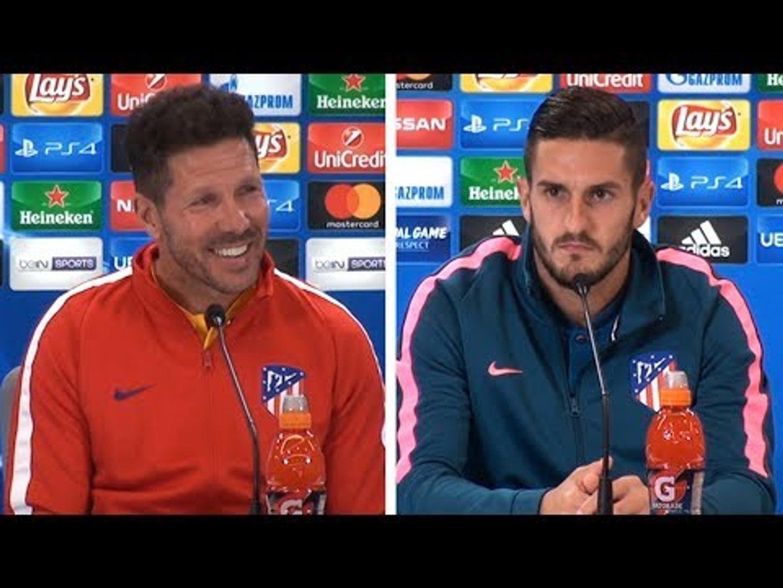 Diego Simeone & Koke Full Pre-Match Press Conference - Atletico Madrid v Chelsea - Champions Lea