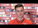 Tom Lawrence Full Pre-Match Press Conference - Georgia v Wales - World Cup Qualifiers