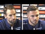 Gareth Southgate & Jack Butland Full Pre-Match Press Conference - Lithuania v England -WC Qualifying
