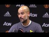 Manchester United 1-2 Manchester City - Pep Guardiola Full Post Match Press Conference - #MUNMCI
