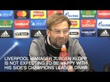 Jurgen Klopp Expects Tough Draw In Champions League Knockout Stages