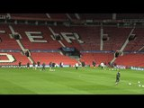 CSKA Moscow Train At Old Trafford Ahead Of Champions League Manchester United Match