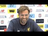 Jurgen Klopp Full Pre-Match Press Conference - Bournemouth v Liverpool - Premier League