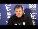 Steve Cotterill Pre-Match Press Conference - Huddersfield v Birmingham - Championship