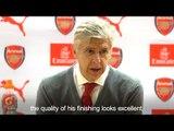 Arsene Wenger Says Aubameyang & Mkhitaryan Made A 'Convincing' Debut At The Emirates Stadium