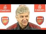 Arsene Wenger Full Pre-Match Press Conference - Arsenal v Everton - Premier League